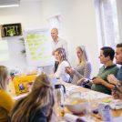 Deelnemers tijdens een Lean Six Sigma training